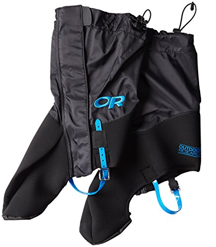 Outdoor Research Huron High Neck Gaiters, Black, Small