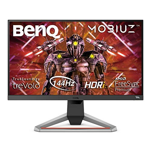 BenQ MOBIUZ EX2510 24.5 Inch HDRi IPS Gaming Monitor, 144 Hz 1ms FreeSync Premium FHD, PS5/Xbox X Compatible