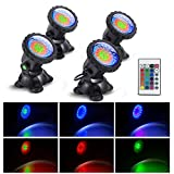 Pond Lights Underwater Waterproof Submersible Led Lights Color Changing...
