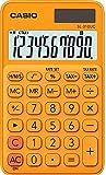 CASIO SL-310UC-RG - Calculadora, 0.8 x 7 x 11.8 cm, color naranja