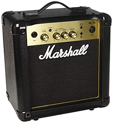 Marshall Amps Guitar Combo Amplifier (M-MG10G-U)