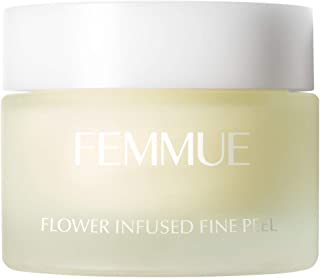 FEMMUE(ファミュ) フラワーインフューズド ファインピール<角質ケアジェル>50g 日本正規品 洗顔 シダーウッド、ゼラニウム、白檀、ジャスミン