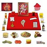 Hanuman Puja Kit / Lord Hanuman Poojan Samagri para Pooja Hindu Religion Festival