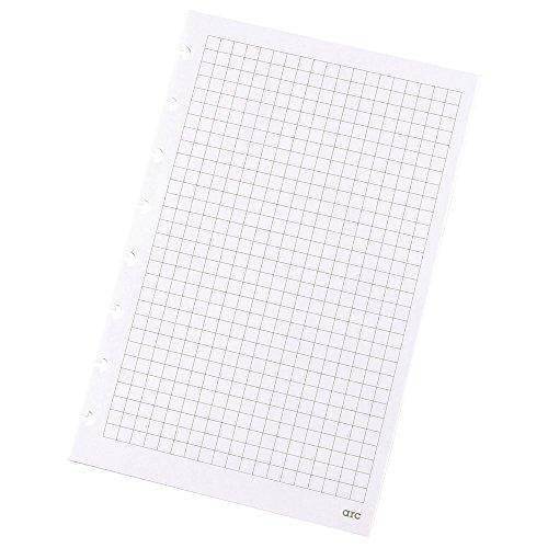 Refill-Papier kar. f. ARC Spiralbuch weiß A5 100g 50 Blatt 22017