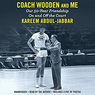 Coach Wooden and Me audiobook cover art