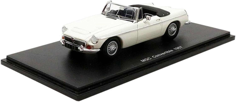 ahorra hasta un 70% Spark Spark Spark MGC Descapotable 1967MG, S4143, blancoo, en Miniatura (Escala 1 43  70% de descuento