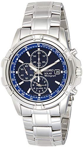 Seiko Men's SSC141 Stainless Steel Solar Watch...