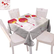 Zara Henry Lantern Tablecloths New Year of China Home Outdoor Rectangular Tablecloth W65 xL65