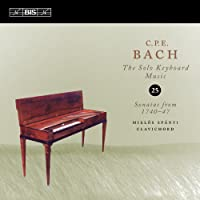 C.P.E.バッハ : 鍵盤独奏曲全集Vol.25 (C.P.E.Bach : The Solo Keybord Music Vol.25 Sonatas from 1740-47 / Miklos Spanyi (clavichord)) [輸入盤]