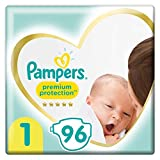 Pampers Couches Premium Protection Taille 1 (2-5kg) notre N°1...