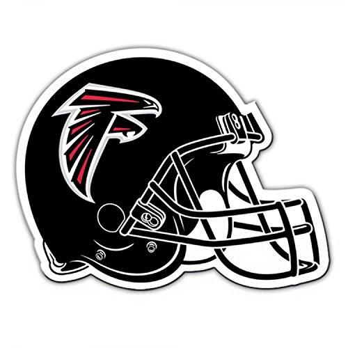 "Fremont Die NFL Atlanta Falcons Vinyl Helmet Magnet, 8"", Team Colors"