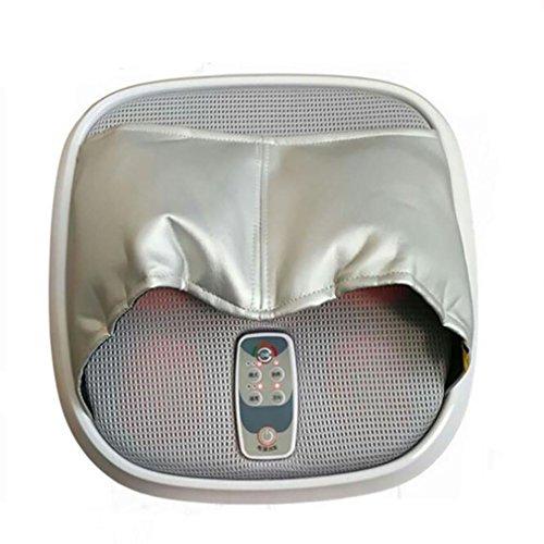 LL-Electric Airbag Fuß Physiotherapie-Instrument, automatische elektrische beheizte Luft Kompression Walzen und tief kneten Füße Massagegerät für plantare Plantarfasziitis