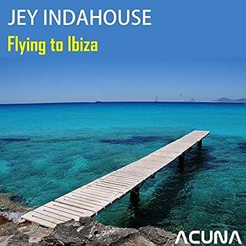 Flying to Ibiza