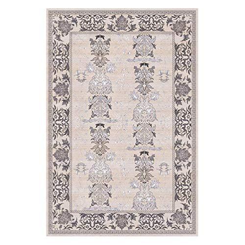 Alfombra alfombra de la sala de estar grande Alfombras alfombra vieja usanza tradicional alfombra Área apenada oriental floral formal con la frontera fácil de limpiar las manchas de fundido resistente