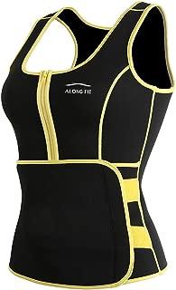 ALONG FIT Sweat Sauna Vest for Women Waist Trainer Corset...
