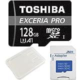 東芝新製品プロフェッショナルmicroSDXCカード、ヨーロッパ先行発売のEXCERIA PRO M402の企業向けバルク品(バルク品のため、商品本体のみの簡易梱包でお届けします。ご注文前に予めご確認ください。); 容量:128GB; 種類:超高速 microSDXC UHS-I カード ; UHSスピードクラス:スピードクラス3 (U3); アプリ最適化、App performance Class 1(A1)対応、より速くアプリを起動する。メーカー仕様はWrite Speed 95 MB/s ...