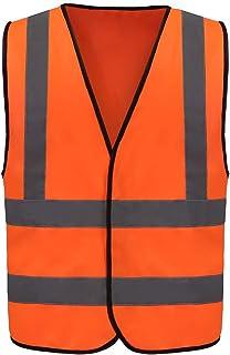 12 Colors Optional Reflective Vest High Visibility hi viz vis Executive Waistcoat(XS-8XL)