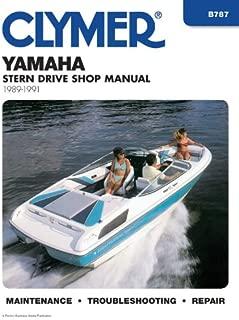 Clymer Yamaha Stern Drive Shop Manual, 1989-1991