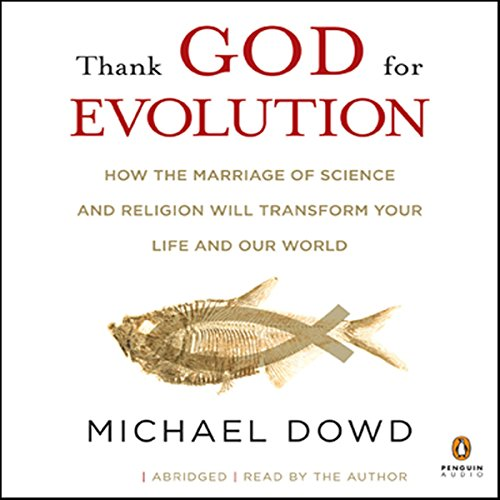 Thank God for Evolution audiobook cover art