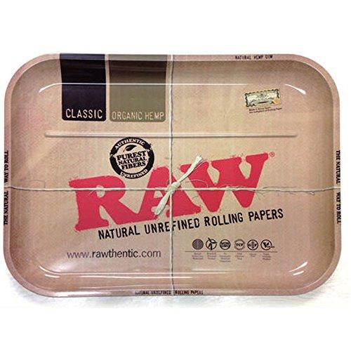 RAW(ロー) メタルトレー 4サイズ 喫煙具 シャグ (M(275×175mm))