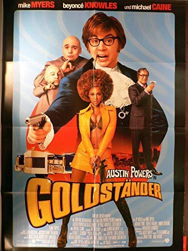 Austin Powers in Goldständer - Filmposter A1 84x60cm gefaltet (g)