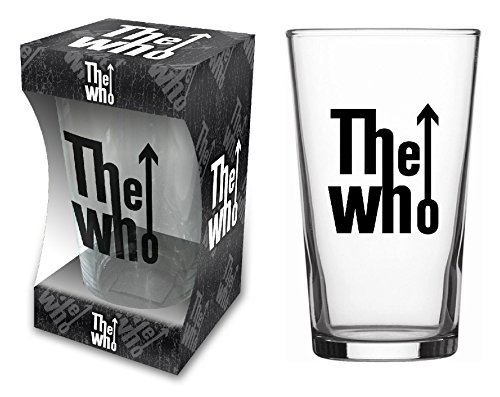 The Who Classic Logo Beer Glasses/bierglas