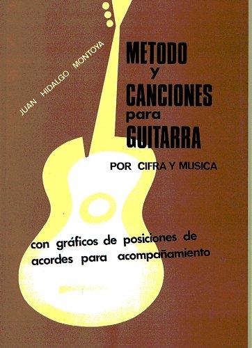 pequeño y compacto MONTOYA JH-Methods y canciones simples para guitarra después de música y cripto