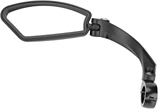 Fietsachteruitkijkspiegel, fiets rechts links stuur achteruitkijkspiegel 180 graden draaibaar met schroef en clipbevestigi...