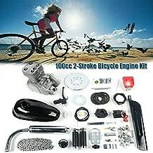 DYRABREST Full Set 100CC 2-Stroke Bicycle Engine Kit,Bike Bicycle Motorized Petrol Gas Motor Engine Kit for Most 26