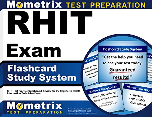 RHIT Exam Flashcard Study System: RHIT Test Practice Questions & Review for the Registered Health In