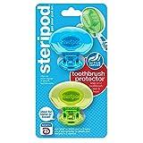 Steripod Clip-on Toothbrush Sanitizer (2 Pack) toothbrush sanitizer Mar, 2021