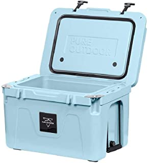 Monoprice Emperor Cooler - 50 Liters - Blue | Securely Sealed, Ideal for The Hottest and Coldest Conditions - Pure Outdoor...