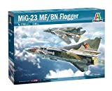 Outletdelocio. Italeri 2798. Maqueta Avion Mig-23 MF/BN Floggger. Kit de Montaje. Escala 1/48