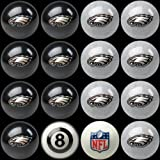 Imperial 16 Piece NFL Billiard Ball Set NFL Team: Philadelphia Eagles