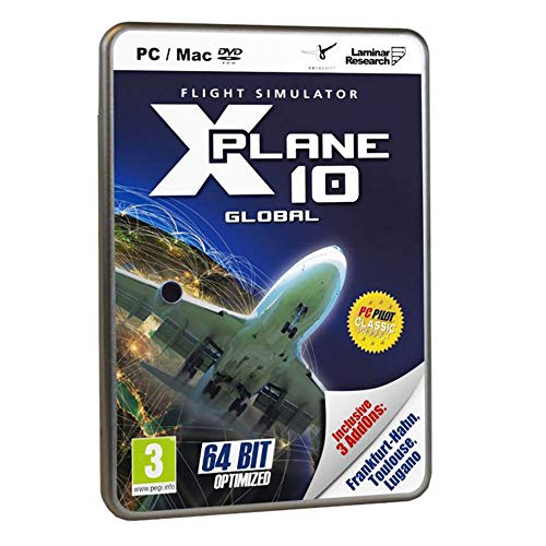 X-Plane 10 - Global inkl. 3 AddOns (Franfurt Hahn / Touluse / Lugano)