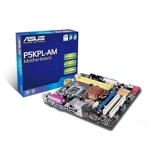 ASUS P5KPL-Am - Placa Base (4 GB, Intel, Socket T (LGA 775), 10/100, Realtek RTL8102E(L), uATX): Amazon.es: Informática
