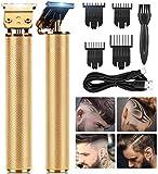 2020 Neuer kabelloser Haarschneider ohne Lückenschneider, elektrischer Pro Li Outliner Grooming...