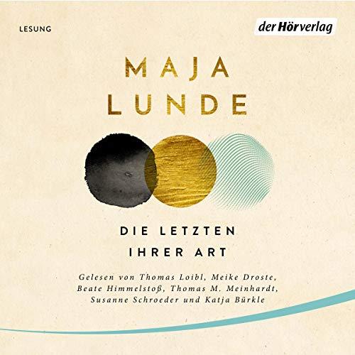 Die Letzten ihrer Art audiobook cover art