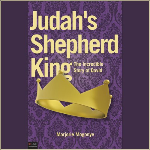Judah's Shepherd King audiobook cover art