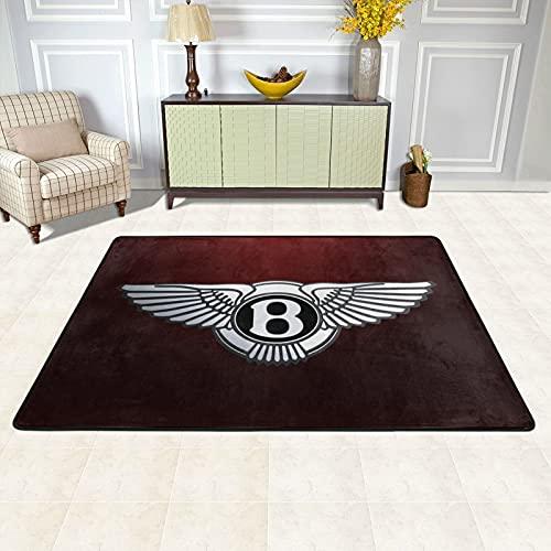 Cute Doormat Bentley - Alfombra suave y esponjosa, alfombra de piso de piel de oveja sintética para dormitorio, sala de estar, sofá, decoración de 91 x 61 cm