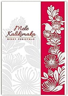 Lehua Holiday Supreme Boxed Hawaiian Christmas Cards - 12 cards & 13 envelopes
