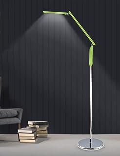 LXD Lampadaire, Piano Creative Lumière, Salon Chambre Liseuse, Lampadaire, Jantes En Aluminium, Blanc, Vert,Vert