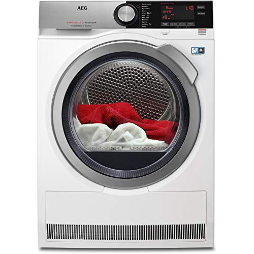 AEG T8DEC846R 8000 Series AbsoluteCare 8kg Freestanding Heat Pump Tumble Dryer - White