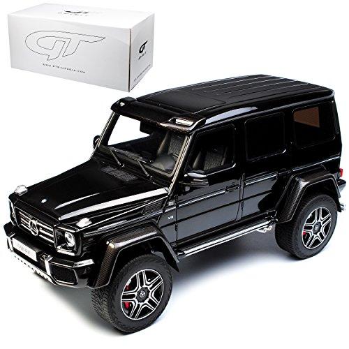 GT Spirit Mercedes-Benz G-Klasse G500 4X4 Schwarz Nr 142 limitiert 1 von 504 ZM 113 limitiert 1 von 504 Stück 1/18 Modell Auto