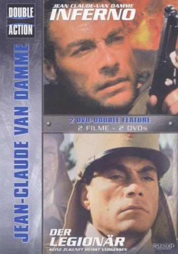 Jean-Claude van Damme Double Action (Inferno/Der Legionär) [2 DVDs]