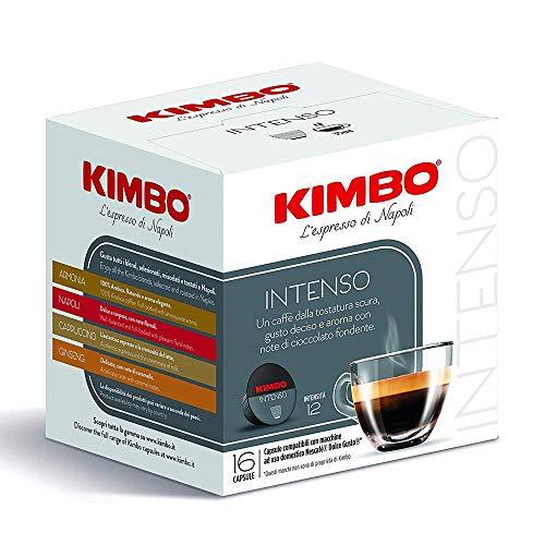 192 Capsule Caffè Kimbo Miscela Intenso Compatibili Dolce Gusto