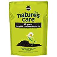 Miracle-Gro 74133120 Nature's Care Organic Incredible Expanding Planting Mix, 0.33 cu. ft