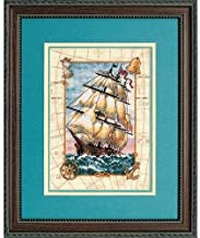 Dimensions Gold Collection Counted Cross Stitch Kit, Voyage At Sea, 18 Count Ivory Aida, 5'' x 7''