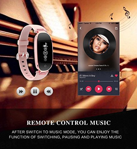 Bracelet Moniteur Flenco Rythme Cardiaque Sport Sommeil Activité Physique - 5