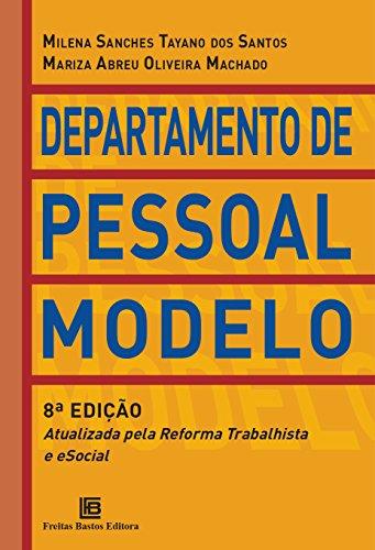 Departamento de Pessoal Modelo: Atualizada pela Reforma Trabalhista e eSocial